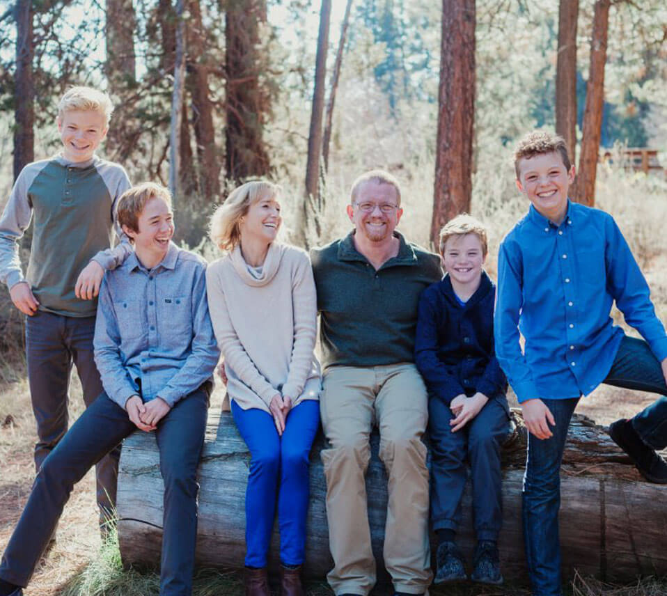 family photo - Dr. Michelle Jackson Naturopathic Physician